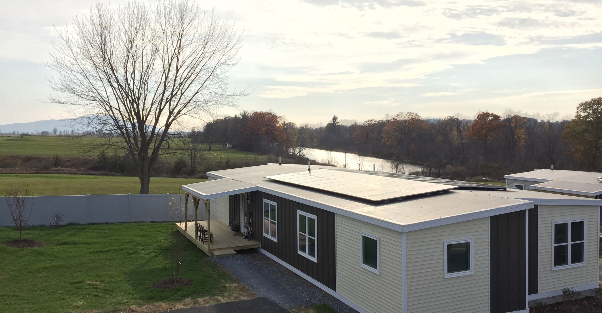 Zero Energy Modular Home at McKnight Lane