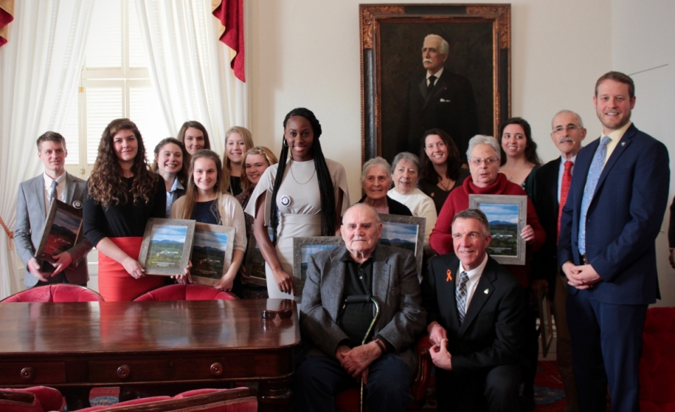 Recipients of 2018 Governor's Service Awards